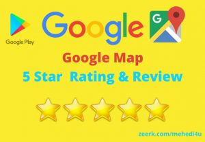 Get 10 permanent google map review || 100% original