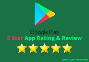 I will provide 8, rating & review on your app just in 6$ for lifetime || 100% Original