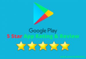 Get 10, rating & review on your app for lifetime just in 7$ || 100% Original