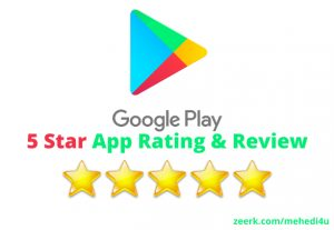 Get 6 rating & review on your app just in 4$ || Permanent || 100% Original