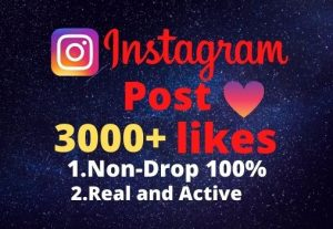 I will provide you 3000+real/organic Instagram posts like