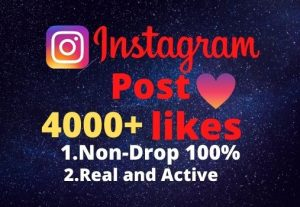 I will provide you 4000+real/organic Instagram posts like