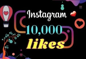 I will provide 10,000 Instagram like