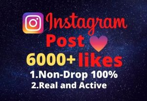 I will provide you 6000+real/organic Instagram posts like