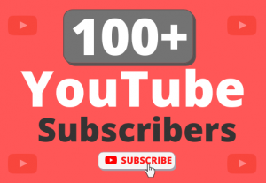 Instant Start 100+ Organic YouTube Subscribers