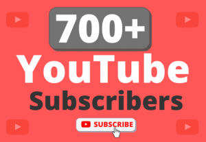 Instant Start 700+ Organic YouTube Subscribers
