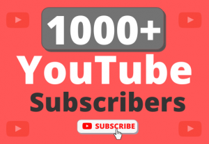 Instant Start 1000+ Organic YouTube Subscribers