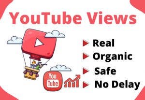 Get 1000+ Real and Organic YouTube views