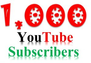 1000+ Non-Drop, Real & Active YouTube Subscribe Life Time