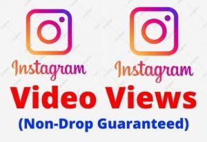 Get Instant 1000 Instagram Video Views Non-Drop Guaranteed.