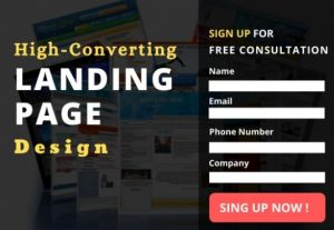 High Converting Landing Page or Squeeze Page Design