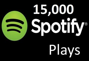 Provide 15,000 Spotify Music Plays