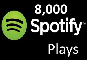 Provide 8,000 Spotify Music Plays