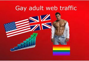 Gay adult web traffic from USA, UK to your website links