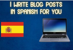 Write 2 blog posts of 600 words in spanish