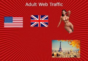 Adult web traffic from USA UK to your website links