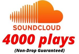 Provide 4000 SoundCloud Plays Non-Drop Lifetime Guaranteed