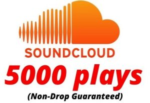 Provide 5000 SoundCloud Plays Non-Drop Lifetime Guaranteed