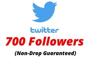 Provide 700 Real Twitter Followers Non-drop Lifetime Guaranteed.