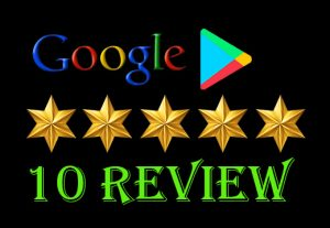 I will provide {10} 100%   permanent google app review