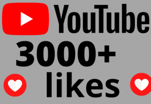 I will add 3000+ REAL AND non drop YouTube likes