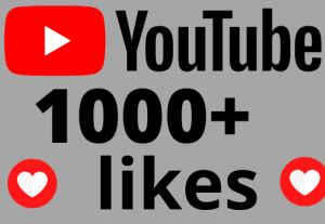 I will add 1000+ REAL AND non drop YouTube likes