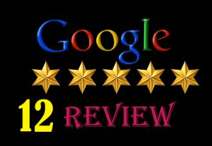 I will provide {12} 100%   permanent google map/ website review