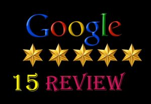 I will provide {15} 100%   permanent google map/ website review