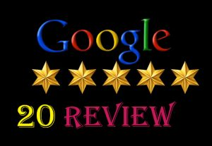 I will provide {20} 100%   permanent google map/ website review