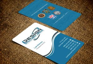 I will design a vertical business card
