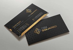 I will design a luxury business card within 12 hours