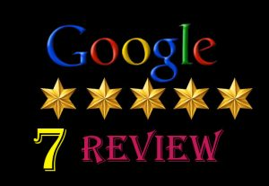 I will provide {7} 100%   permanent google map/ website review