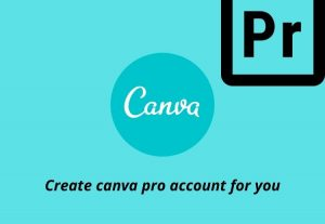 I will create canva pro account for you 1 Year Warranty Unlimited Private Account