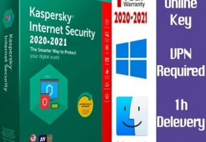 I will Give You KASPERSKY 2021 Internet Security