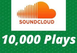 Send 10,000 SoundCloud Plays Non-Drop Lifetime Guaranteed
