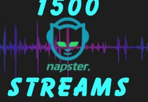 I will Deliver 1,500 Napster Plays To Your Track.
