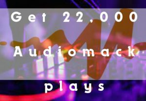 I will Deliver 22,000 AudioMack Plays To Your Track.