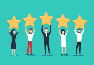 I will provide 100 5 star permanent review and ratings for your apps