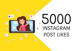 Get 5000 likes and 100 comments for your Instagram posts and photos,  with lifetime non-drop guarantee