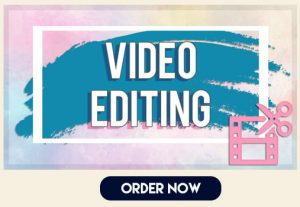 I will edit, cut, trim, extend and sync audio and video