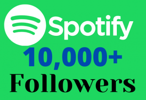 I will provide you 10000+ H.Q Spotify real follower