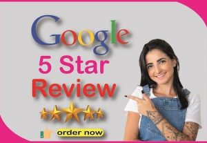 I Will Provide you 95 Real and Non-Drop Reviews||5 Star Google Reviews||Website Review