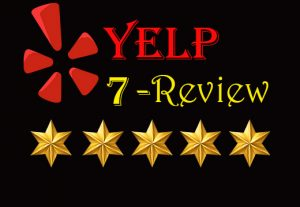 I Will Provide you 7 Real and Non-Drop Reviews.