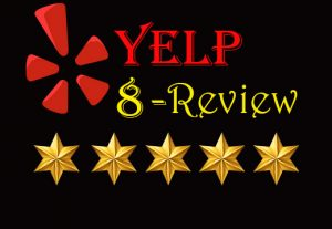 I Will Provide you 8 Real and Non-Drop Reviews.