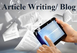 1000 words manually written unique and SEO optinized article for $10