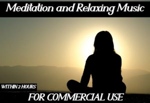 I will create  meditation and relaxing music Video for commercial use within 2 hours