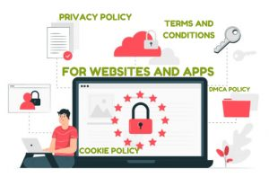 I will write a privacy policy, terms and conditions GDPR compliant for website and app