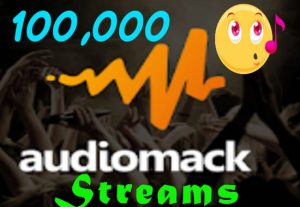 I will Deliver 100,000 AudioMack Plays To Your Track.