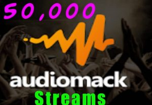 I will Deliver 50,000 AudioMack Plays To Your Track.