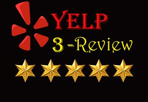I Will Provide you 3 Real and Non-Drop Reviews.